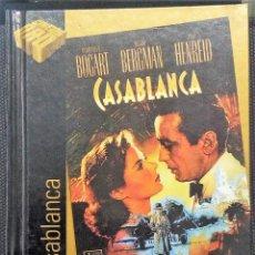 Cine: CASABLANCA PELICULA DE H. BOGART, I. BERGMAN Y P. HENREID. DVD Y LIBRO-CINE DE ORO.. Lote 115631163