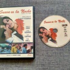 Cine: DVD SUAVE ES LA NOCHE - TENDER IS THE NIGHT - SCOTT FITZGERALD - HENRY KING. Lote 115651271