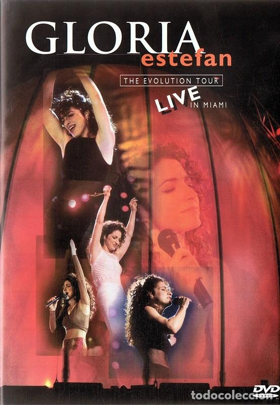 DVD GLORIA ESTEFAN THE EVOLUTION TOUR LIVE IN MIAMI (Cine - Películas - DVD)