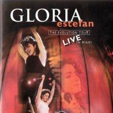 Cine: DVD GLORIA ESTEFAN THE EVOLUTION TOUR LIVE IN MIAMI . Lote 115713799