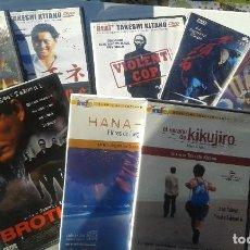 Cine: PACK 8 FILMS DE KITANO * KIKUJIRO * HANA-BI* SONATINE * BOILING POINT * VIOLENT COP * BROTHER Y 2 + . Lote 115870403