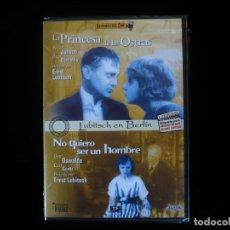 Cine: LA PRINCESA DE LAS OSTRAS + NO QUIERO SER UN HOMBRE, 2 PELICULAS - DVD NUEVO PRECINTADO. Lote 115871571