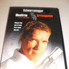 Cine: DVD. MENTIRAS ARRIESGADAS. SCHWARZENEGGER. 134 MINUTOS (PROBADA Y BIEN). Lote 115873623