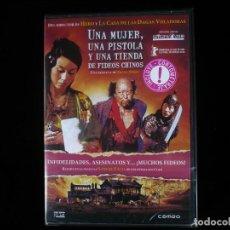 Cinéma: UNA MUJER UNA PISTOLA Y UNA TIENDA DE FIDEOS CHINOS - DVD NUEVO PRECINTADO. Lote 209339856
