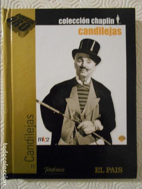 CANDILEJAS. LIBRO DVD DE LA PELICULA DE CHARLES CHAPLIN. BLANCO Y NEGRO. 132 MINUTOS. (Cine - Películas - DVD)