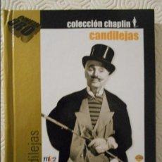 Cine: CANDILEJAS. LIBRO DVD DE LA PELICULA DE CHARLES CHAPLIN. BLANCO Y NEGRO. 132 MINUTOS.. Lote 115941767