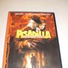 Cine: DVD. PESADILLA EN ELM STREET. JOHN SAXON (FREDDY KRUEGER) 88 MINUTOS (BUEN ESTADO). Lote 115968567