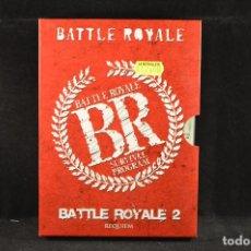 Cine: BATTLE ROYALE - BATTLE ROYALE II - DVD. Lote 116191563