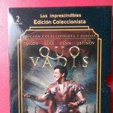 Cine: QUO VADIS. LOS IMPRESCINDIBLES - EDICION COLECCIONISTA - CON LIBRETO. Lote 116257735