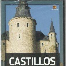 Cine: CASTILLOS Y MAZMORRAS EL BASTIÓN DE LA EUROPA FEUDAL (CANAL HISTORIA) - DVD NUEVO. Lote 116302051