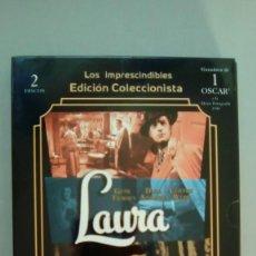Cine: LOS IMPRESCINDIBLES EDICION COLECCIONISTA: LAURA (2 DVD´S + LIBRETO + ESTUCHE CONTENEDOR). Lote 116337167