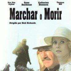Cine: DVD MARCHAR O MORIR MAX VON SYDOW . Lote 116452171