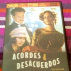Cine: ACORDES & DESACUERDOS DVD WOODY ALLEN UMA THURMAN SEAN PENN SAMANTHA MORTON. Lote 116456155