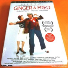 Cine: GINGER Y FRED - FEDERICO FELLINI - EDICIÓN COLECCIONISTA - PRECINTADA. Lote 116569235