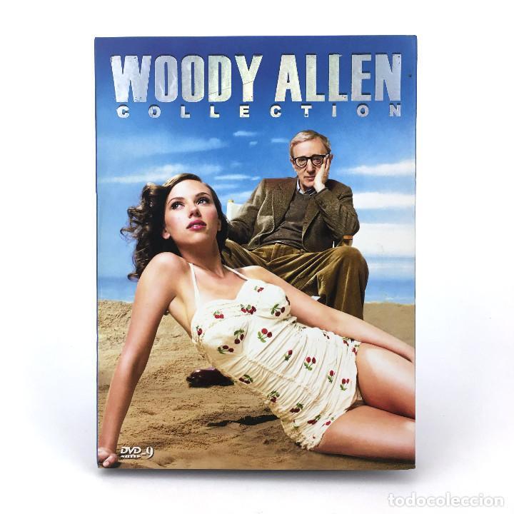 WOODY ALLEN COLLECTION - FILMOGRAFIA - ESTUCHE DVD - ASIA - SCARLETT JOHANSSON - LEER DESCRIPCION, usado segunda mano
