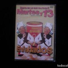 Cine: MARTES Y 13 ENFABADOS - DVD NUEVO PRECINTADO. Lote 116595891
