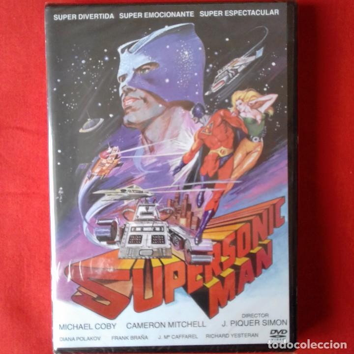 SCI-FI SUPERSONIC MAN SUPERMAN FREAK ESPAÑOL. JUAN PIQUER SIMON (PRECINTADO) (Cine - Películas - DVD)