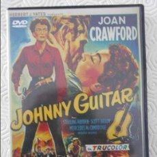 Cine: JOHNNY GUITAR. DVD DE LA PELICULA DE NICHOLAS RAY. CON JOAN CRAWFORD, STERLING HAYDEN, SCOTT BRADY, . Lote 116860639