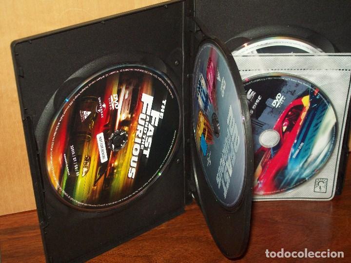 Cine FAST AND FURIOUS COLLECTION EN DVD 3 DVDS DE TRES PELICULAS Y 2