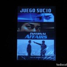 Cine: JUEGO SUCIO INFERNAL AFFAIRS - DVD NUEVO PRECINTADO. Lote 147940233
