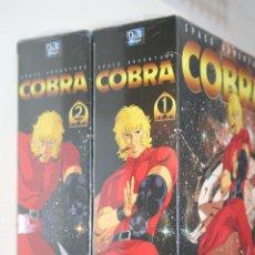 Cine: COBRA (BOX Nº 1 Y 2) *** 8 DVD (32 EPISODES) CINE FANTASTICO EN FRANCÉS *** PRECINTADOS. Lote 117276671