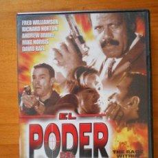 Cine: DVD EL PODER DEL DESTINO - FRED WILLIAMSON - RICHARD NORTON - ANDREW DIVOFF (X5). Lote 117281591