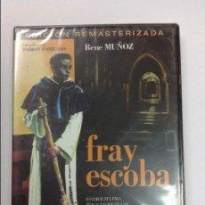 Cine: DVD FRAY ESCOBA EDICION REMASTERIZADA DIRECTOR RAMON TORRADO. PRECINTADA SIN ABRIR. Lote 117315183