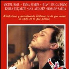 Cine: ENCIENDE MI PASION - MIGUEL BOSÉ, EMMA SUÁREZ, JUAN LUIS GALIARDO DVD NUEVO. Lote 174535088