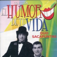 Cine: EL HUMOR DE TU VIDA - DUO SACAPUNTAS (DVD) PRECINTADO. Lote 117349679