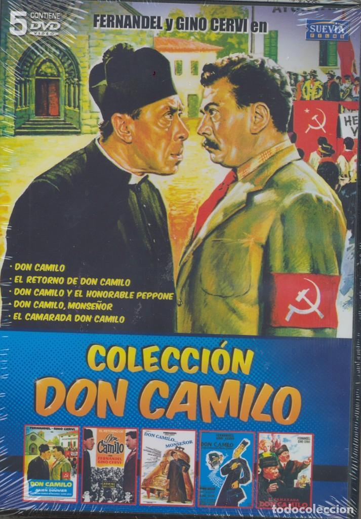 COLEC. DON CAMILO DVD (5.DVD) NUNCA UN CURA TUVO MAS AGALLAS CONTRA SU ALCALDE COMUNISTA..MAGISTRAL (Cine - Películas - DVD)