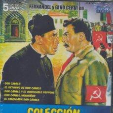 Cine: COLEC. DON CAMILO DVD (5.DVD) NUNCA UN CURA TUVO MAS AGALLAS CONTRA SU ALCALDE COMUNISTA..MAGISTRAL. Lote 214015518