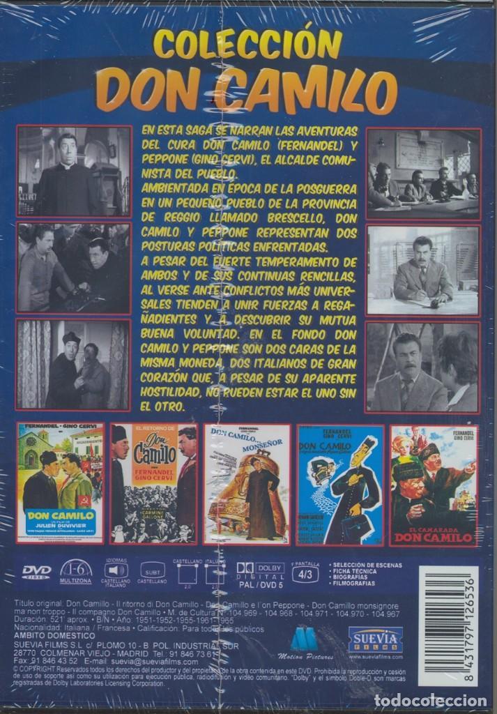 Cine: COLEC. DON CAMILO dvd (5.DVD) NUNCA UN CURA TUVO MAS AGALLAS CONTRA SU ALCALDE COMUNISTA..Magistral - Foto 2 - 117357563