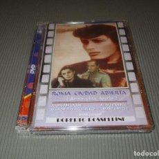 Cine: ROMA CIUDAD ABIERTA - DVD - EDICION 11002 - VELLA VISION - PRECINTADO - ROBERTO ROSSELLINI. Lote 117440487