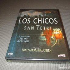 Cine: LOS CHICOS DE SAN PETRI - DVD - DIVISA HOME VIDEO - PRECINTADA - SU GUERRA FUE ALGO MAS QUE UN JUEGO. Lote 117466739