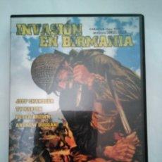 Cine: INVASIÓN EN BIRMANIA+OBJETIVO BIRMANIA. Lote 117542434
