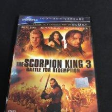 Cinema: THE SCORPION KING 3 ( DVD PROCEDENTE VIDEOCLUB ). Lote 117551167