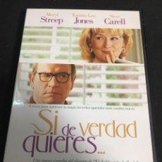 Cine: SI DE VERDAD QUIERES ( DVD PROCEDENTE VIDEOCLUB ). Lote 117553300