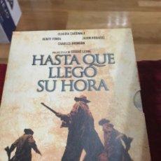 Cine: HASTA QUE LLEGÓ SU HORA CLAUDIA CARDINALE EDICIÓN ESPECIAL COLECCIONISTA. Lote 117668703