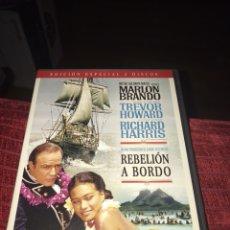 Cine: REBELIÓN A BORDO MARLON BRANDO EDICIÓN ESPECIAL DOS DISCOS. Lote 117671255