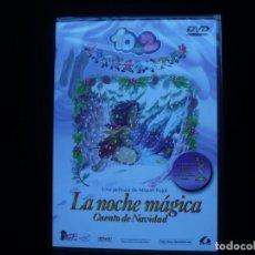 Cine: 10+2 LA NOCHE MAGICA CUENTO DE NAVIDAD - DVD NUEVO PRECINTADO. Lote 117677295