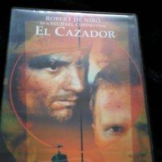 Cine: EL CAZADOR, DE MICHAEL CIMINO. CON ROBERT DE NIRO. DVD. Lote 117717803