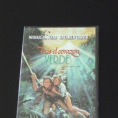 Cine: DVD - TRAS EL CORAZÓN VERDE - MICHAEL DOUGLAS - KATHLEEN TURNER. Lote 117797707