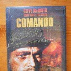 Cine: DVD COMANDO - STEVE MCQUEEN (AO). Lote 117815055