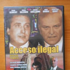 Cine: DVD ACCESO ILEGAL - SILICON TOWERS (AO). Lote 117816187