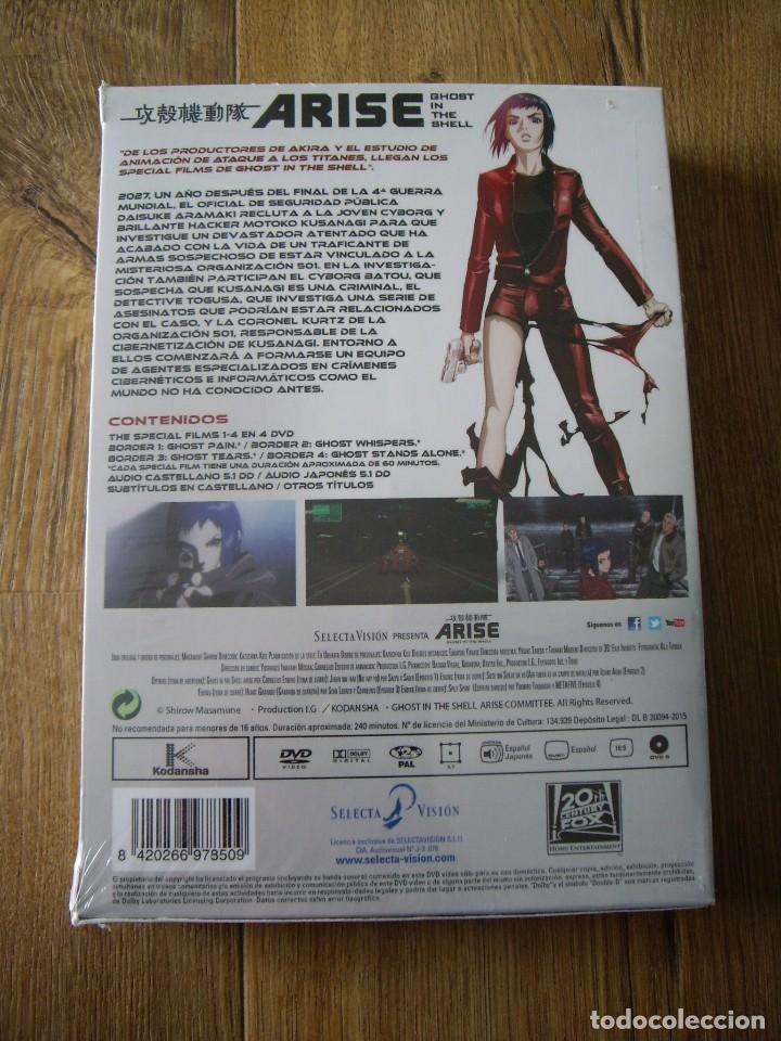 Cine: ARISE GHOST IN THE SHELL: THE SPECIAL FILMS - 4 DVD - Nuevo - Foto 2 - 117830655