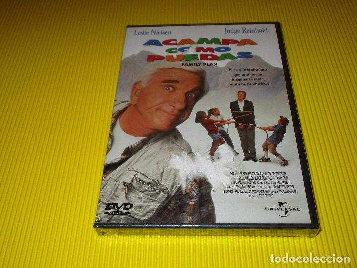 ACAMPA COMO PUEDAS ( FAMILY PLAN ) - DVD - EDICION 9070119 - UNIVERSAL - PRECINTADA - LESLIE NIELSEN (Cine - Películas - DVD)