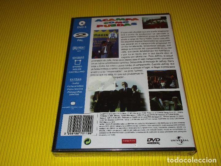 Cine: ACAMPA COMO PUEDAS ( FAMILY PLAN ) - DVD - EDICION 9070119 - UNIVERSAL - PRECINTADA - LESLIE NIELSEN - Foto 2 - 117956847
