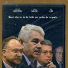 Cine: DVD DOCUMENTAL POLITC - CONFIDENCIAL CAT. Lote 118025007