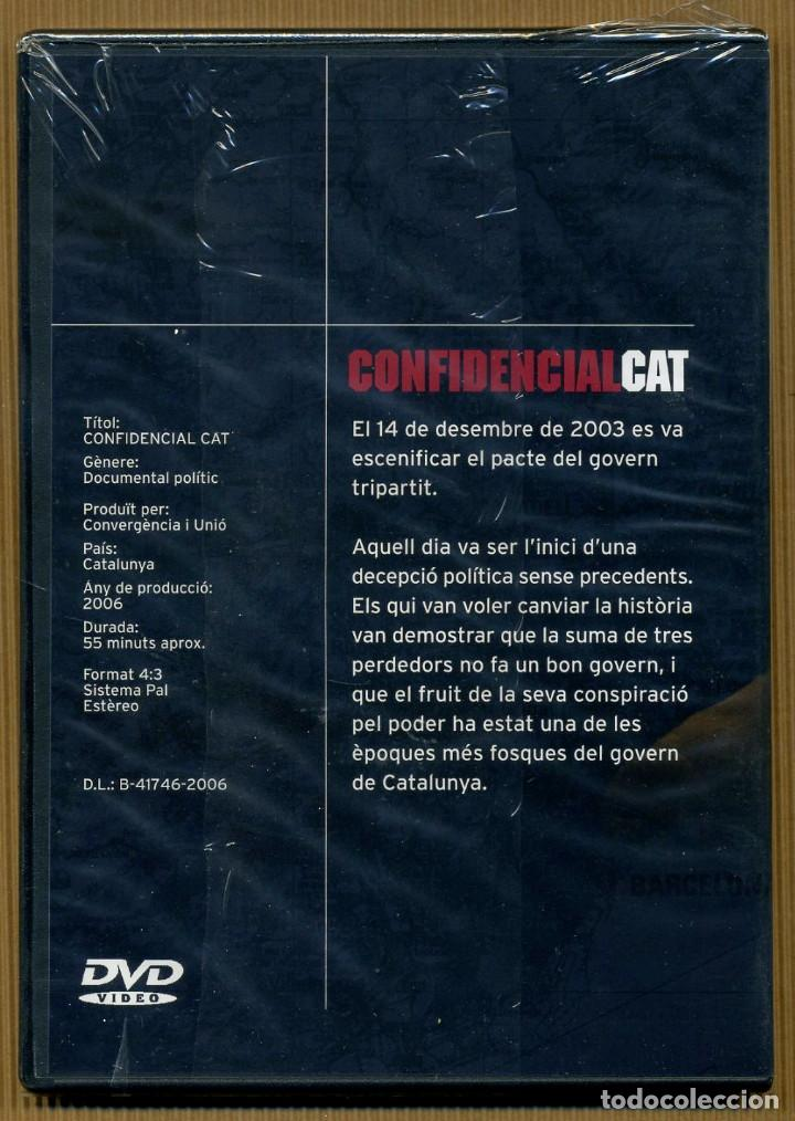 Cine: DVD DOCUMENTAL POLITC - CONFIDENCIAL CAT - Foto 2 - 118025007