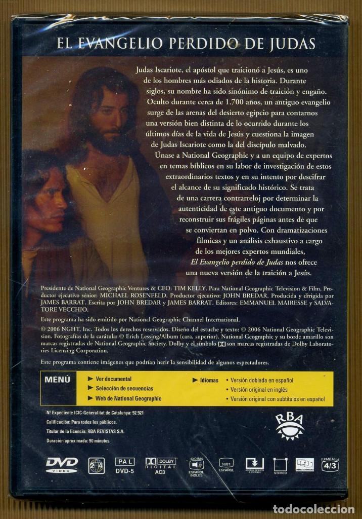 Cine: DVD NATIONAL GEOGRAPHIC - EL EVANGELIO PERDIDO DE JUDAS - Foto 2 - 118064323